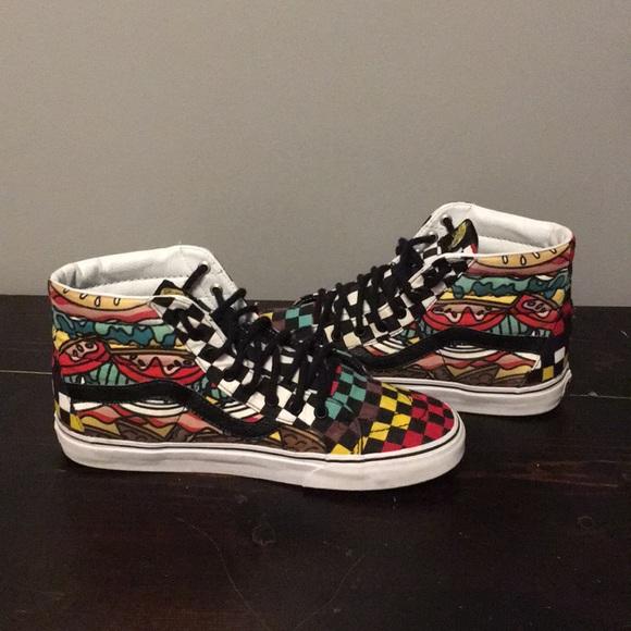 Vans Shoes | Custom High Top Vans